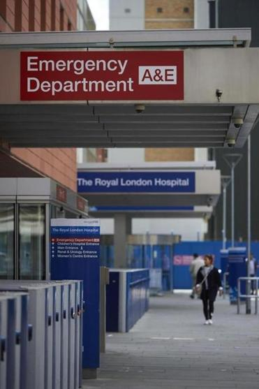 Computers at the Royal London Hospital were among those affected by the international cyberattack, disrupting medical care.