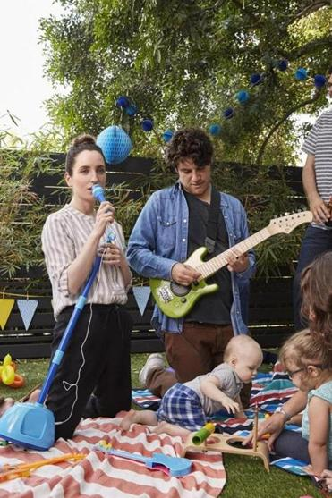 "Zoe Lister-Jones (with Adam Pally in ""Band Aid"") is the daughter of video artist Ardele Lister and photographer and media artist Bill Jones."