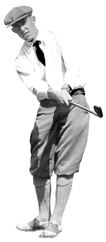 7th September 1931: American golfer Francis Ouimet in action. (Photo by Topical Press Agency/Getty Images)