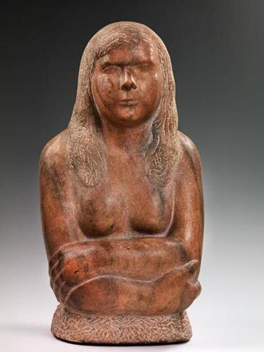 "William Zorach's ""The Artist's Daughter"""