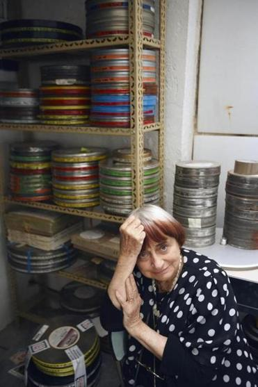 "Agnès Varda, whose ""The Beaches of Agnès"" screens Friday at the Harvard Film Archive."