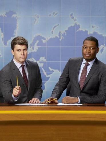 Colin Jost (left) and Michael Che will star in ''Weekend Update: Summer Edition.''