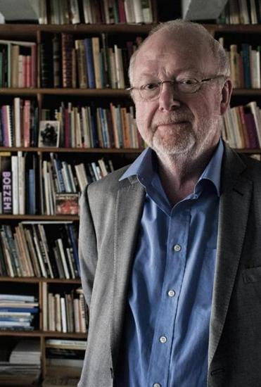 Dutch composer Louis Andriessen.