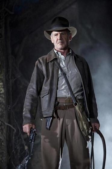 "Actor Harrison Ford is shown in this undated publicity photo released to Reuters April 23, 2008 in a scene from Lucasfilm LTD and Paramount Pictures upcoming summer film ""Indiana Jones and the Kingdom of the Crystal Skull"". With the summer movie season set to begin with next week's release of comic book movie ""Iron Man,"" Hollywood is holding its breath, hoping for a big start to the lucrative moviegoing period. REUTERS/David James/Lucasfilm LTD/Handout (UNITED STATES). NO SALES. NO ARCHIVES. FOR EDITORIAL USE ONLY. NOT FOR SALE FOR MARKETING OR ADVERTISING CAMPAIGNS."