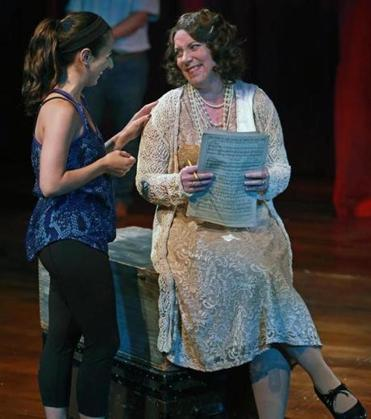 "Leigh Barrett talked with ""Gypsy"" director Rachel Bertone, who is making her directorial debut at the Lyric."