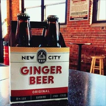 New City Brewery's Ginger Beer.
