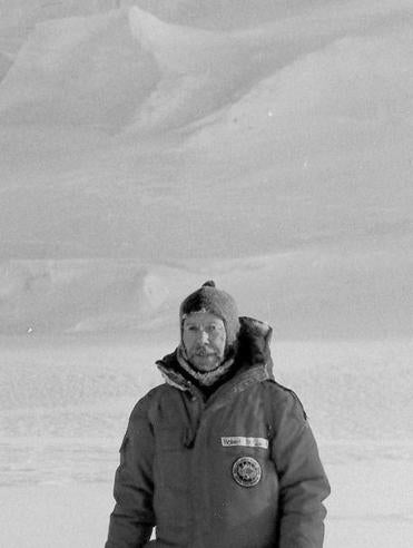 Dr. de Zafra traveled to Antarctica for research on the ozone layer in 1987.