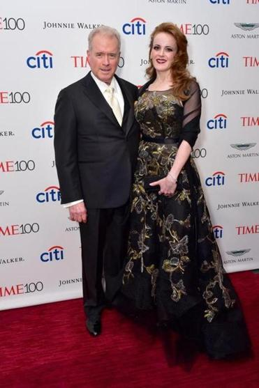 Robert and Rebekah Mercer at the 2017 Time 100 Gala in April.