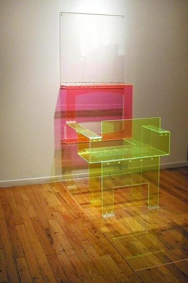 "Marta Chilindron's ""TV and Chair."""