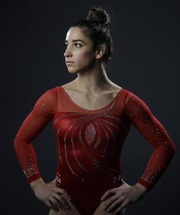 Aly Raisman in 2016.