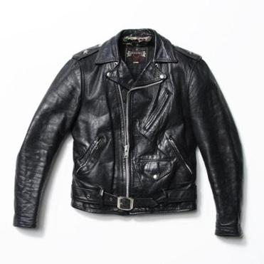 """One-Star Perfecto Leather Motorcycle Jacket."""