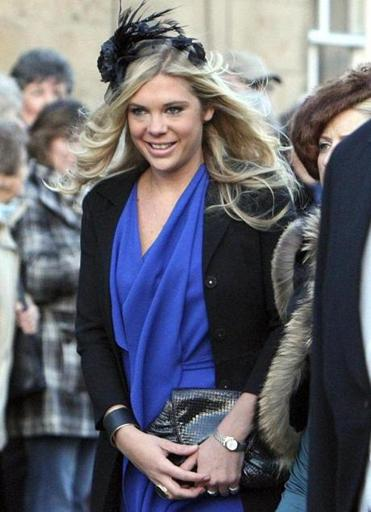"Chelsy Davy, a former girlfriend of Prince Harry, called the media attention ""crazy and uncomfortable."""