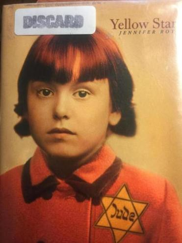 "17zobeckham - The cover of Beverly Beckham's copy of ""Yellow Star,"" a book about the experiences of Holocaust survivor Sylvia Perlmutter. (Beverly Beckham)"