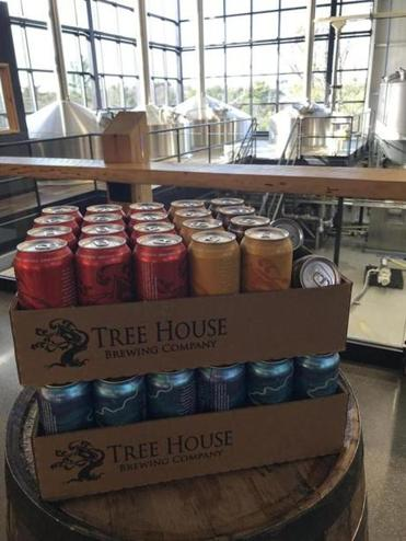 A haul of beer from Tree House Brewing Co. in Charlton.