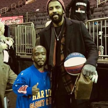 "Jahmani ""Hot Shot"" Swanson and Celtics' star Kyrie Irving"