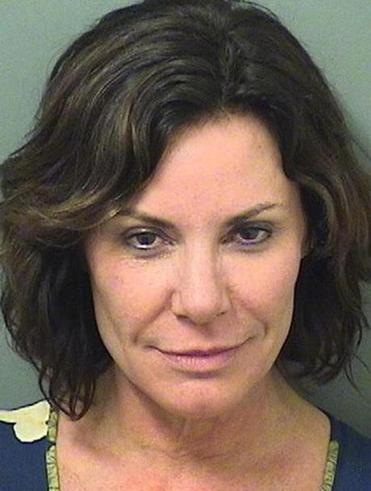 "Luann de Lesseps (above) apologized and said her visit to Palm Beach brought up ""long-buried emotions."""