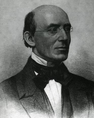 Abolitionist William Lloyd Garrison.