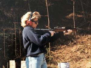 ATF Special Agent Lisa Kincaid early in her 31-year career with the agency.