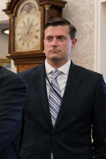 Rob Porter, White House staff secretary, is a key assistant to chief of staff John F. Kelley.
