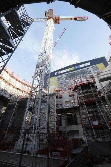 The  site of the ITER project in southern France. The fusion reactor is expected to go online in 2025.