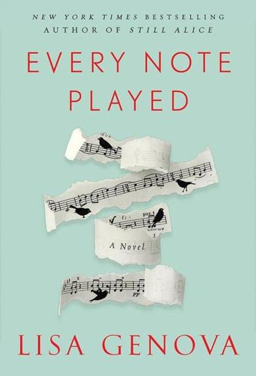 "Cover of ""Every Note Played"" by Lisa Genova."
