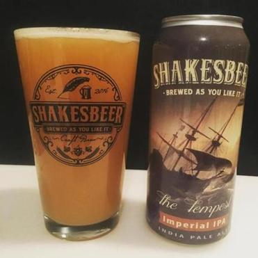 The Tempest is one of two brews currently offered by Shakesbeer.