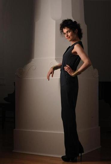 Boston, MA 082712 Neri Oxman (Cq) was photograpahed on August 29, 2012 at her Brookline home for this year's Boston Globe Magazine's 25 Most stylish. (Essdras M Suarez/ Globe Staff)/ G Assistant: Cecille Avila