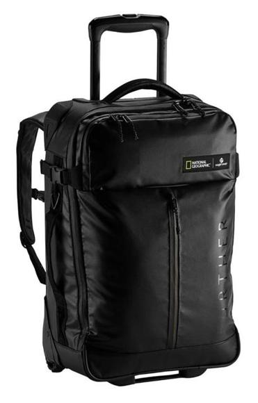 Eagle Creek's new National Geographic Adventure Guide luggage.