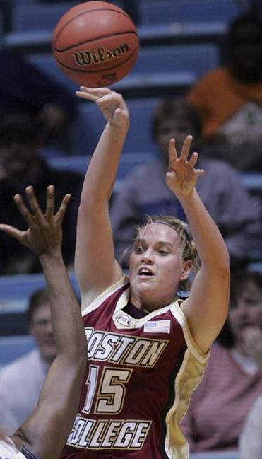 Clare Droesch's Eagles won the 2004 Big East tournament, upsetting UConn along the way.