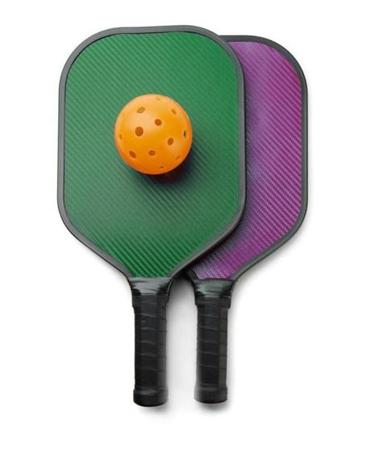 Pickleball paddles.