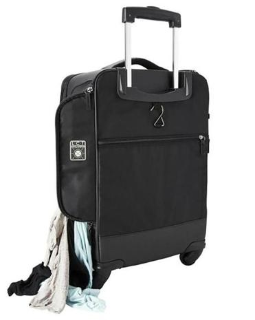 The Genius Pack G3 22-inch Carry On Spinner has tons of compartments and nifty features.