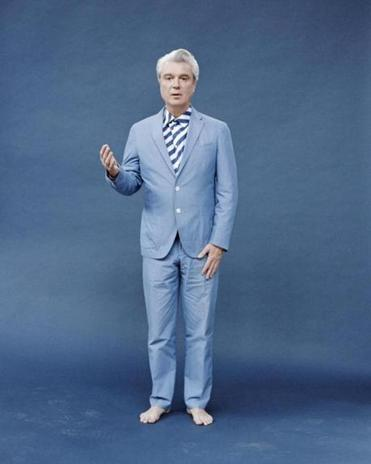 "David Byrne fronts a 12-piece band for a ""choreographed concert"" at Blue Hills Bank Pavilion July 31 and Aug. 1."