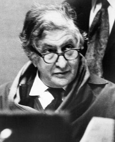 "Bernard Herrmann, pictured in the 1970s, was a staff conductor for CBS radio when he created a cantata on Herman Melville's ""Moby Dick"" that was premiered by the New York Philharmonic in 1940. """