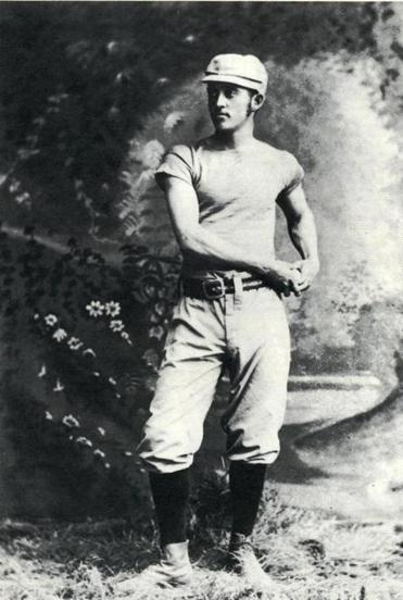 J. Lee Richmond, a student at Brown University who was filling in for a game for the Worcesters, a franchise in the nascent National League of Major League Baseball, is believed to have pitched baseball's first perfect game after a night of partying.