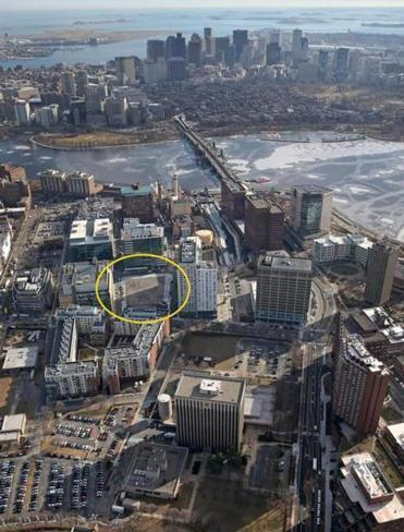 The property at 585 Third St. has remained empty for years amid Kendall Square's biotech and high-tech boom.