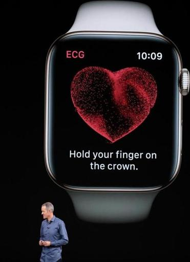 Jeff Williams, chief operating officer of Apple Inc., spoke about the new watch.