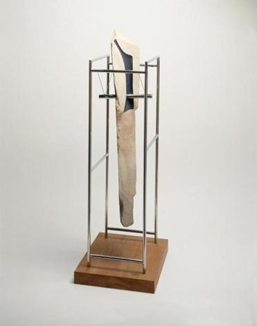 "Isamu Noguchi's ""Untitled"" is on display in the exhibit ""Beyond the Pedestal: Isamu Noguchi and the Borders of Sculpture"" at the Portland Museum of Art."