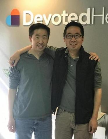 Ed (left) and Todd Park are trying to building another major player in the health care field.