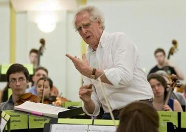 Conductor Benjamin Zander started the Boston Philharmonic Youth Orchestra in 2012.