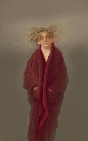 "Anne Harris's ""Red Robe."""
