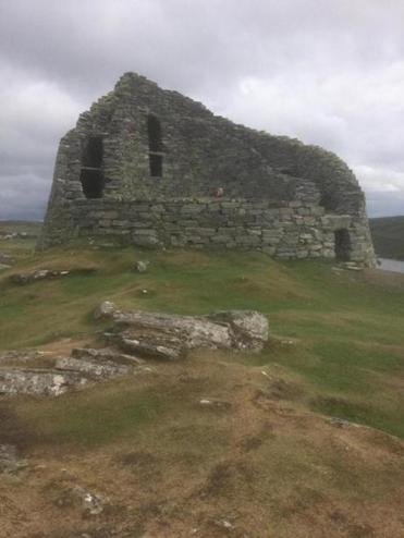 The 2,000-year-old Carloway Broch in Lewis
