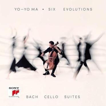 Yo-Yo Ma Six Evolutions - Bach: Cello Suites Available August 17th (PRNewsfoto/Sony Classical)