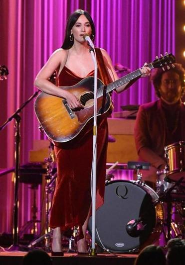 Kacey Musgraves performed during the 52nd annual CMA Awards in Nashville in November.