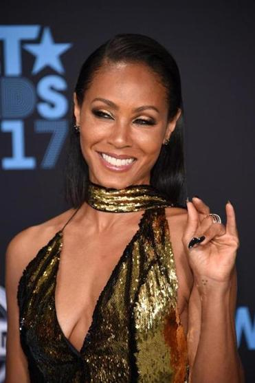 Jada Pinkett Smith is among the many celebrities who have happily posted then-and-now pictures for the social media 10-year challenge.