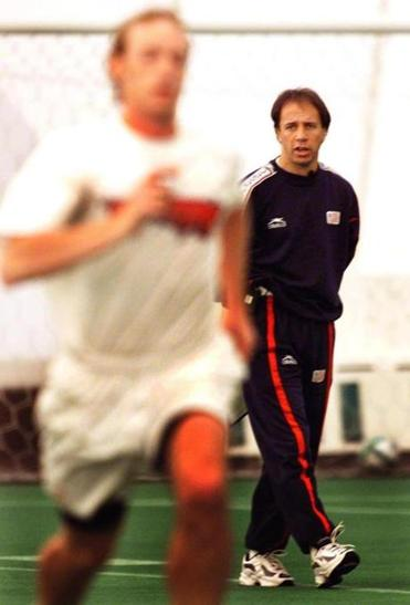 Mr. Clavijo took the reins of the New England Revolution in 2000.