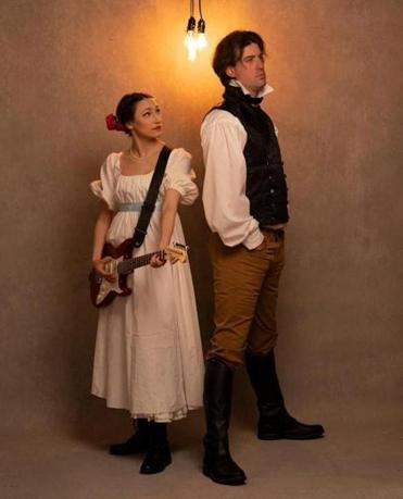 "Sarah Pothier plays Tatyana and Mark Linehan has the title role in ""Onegin."""
