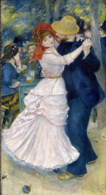 "One of Renoir's greatest paintings, ""Dance at Bougival"" (1883), is at the Museum of Fine Arts."