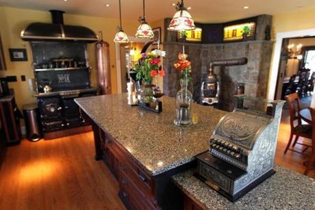 Rosenbaum's kitchen.