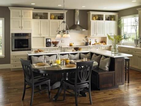 Kitchen Island Different Color Than Cabinets 9 trends in kitchen design - the boston globe