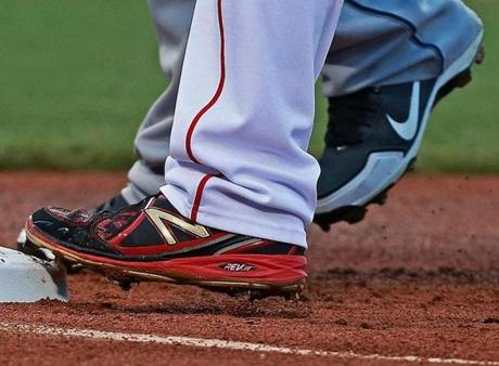 purple new balance baseball cleats